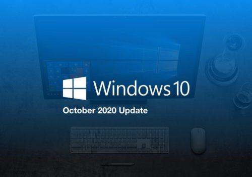 Windows 10 : La mise à jour d'Octobre 2020 est disponible